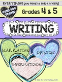 WRITING BUNDLE: Narrative, Persuasive/Opinion, Informational