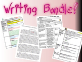 WRITING BUNDLE - Outlines, Student Ex. Outlines/Essays, Peer Revision, and more!