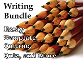 Writing Basics Bundle-MLA Essay Structure & Template, Outl