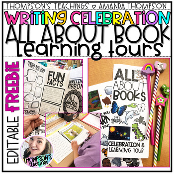 WRITING CELEBRATION- ALL ABOUT BOOKS- LEARNING TOUR and BROCHURES FREEBIE