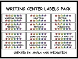 WRITING CENTER LABELS PACK