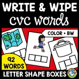 WRITING CVC WORD FAMILIES TASK CARDS (SPELLING WORD WORK A