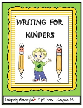 WRITING FOR KINDERS!