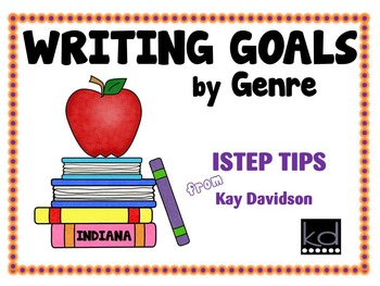 WRITING GOALS BY GENRE