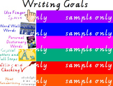 WRITING GOALS FOR ACTIVINSPIRE