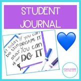 WRITING JOURNAL FOR STUDENTS - GIFT, IN CLASS, or PERSONAL