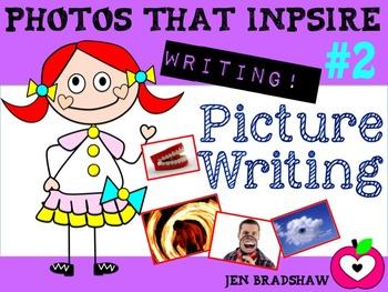 WRITING KIT #2 ~ Picture Writing ~ Photos  ~ Activities ~ Inspiration