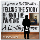 WRITING LESSON: The Story Behind the Painting {Teaching Plot Structure}