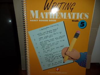 WRITING MATHEMATICS ISBN1-56107-825-5