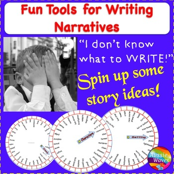 WRITING NARRATIVES A fun, novel tool to inspire reluctant writers STORY PROMPTS