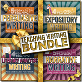 WRITING BUNDLE: Persuasive, Literature, Expository and Narrative Essay Writing