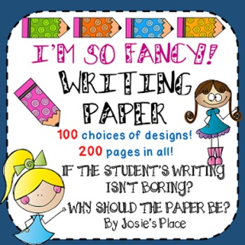 WRITING PAPER FREEBIE INCLUDED