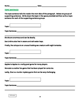 WRITING PARAGRAPHS: An Easy & Structured Approach to Paragraph Writing
