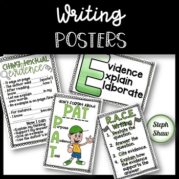 WRITING POSTERS - Great references!