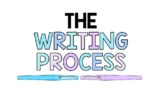 WRITING PROCESS POSTERS, 6 PAGES, WRITING POSTER BULLETIN