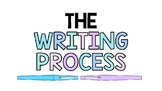 WRITING PROCESS POSTERS, BUNDLE 6 PAGES, WRITING POSTER BU
