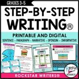 WRITING PROGRAM BUNDLE - PRINTABLE AND DIGITAL FOR DISTANC