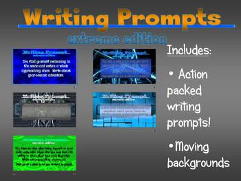 WRITING PROMPTS (EXTREME EDITION)