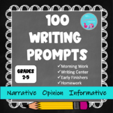 WRITING PROMPTS GRADE 2-5