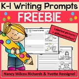WRITING PROMPTS K-1 FREEBIE: Spring, Summer