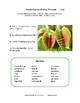 CREATIVE WRITING PROMPTS | PLANTS | VOCABULARY | Tips, Rubrics, Checklists