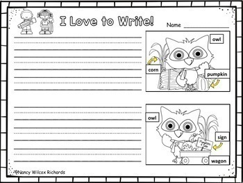 WRITING PROMPTS for Fall and Back to School