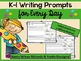WRITING PROMPTS for K-1 (BUNDLE)