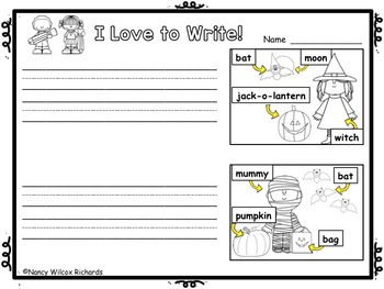 WRITING PROMPTS  Special Days   K-1