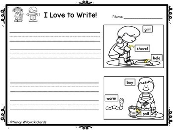 WRITING PROMPTS Spring , Summer  K-1