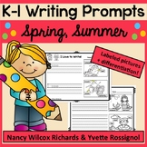 Writing Prompts for Spring and Summer | Writing Prompts for Beginning Writers