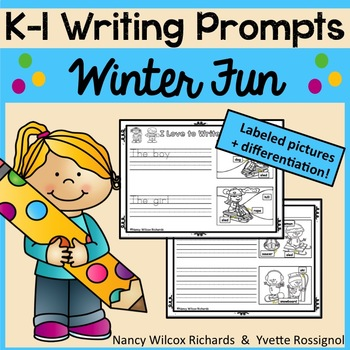 WRITING PROMPTS for Winter K-1