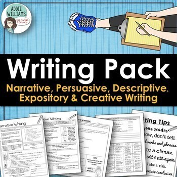 narrative descriptive expository persuasive