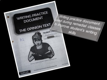 Opinion Practice Workbook - Back to School/All Year Round