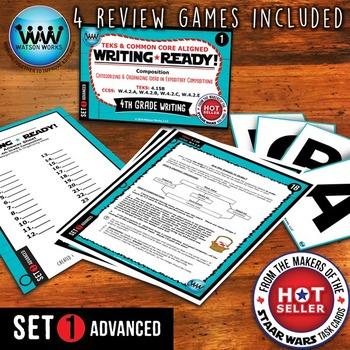WRITING READY 4th Grade Task Cards- Categorizing/Organizin