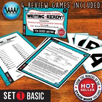 WRITING READY 4th Grade Task Cards - Categorizing/Organizi