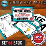 WRITING READY 4th Grade Task Cards - Editing Drafts ~ BASIC SET 3