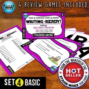 WRITING READY 4th Grade Task Cards - Using Correct Punctua