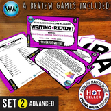 WRITING READY Task Cards: Complete Subjects & Predicates in Sentences ADVANCED 2