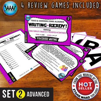 WRITING READY Task Cards: Complete Subjects & Predicates i