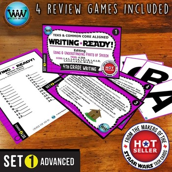 WRITING READY Task Cards: Using & Understanding Parts of S