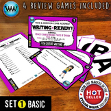 WRITING READY Task Cards - Using & Understanding Parts of