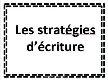 WRITING STRATEGIES - FSL