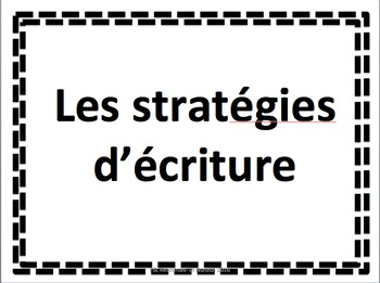 WRITING STRATEGIES - FSL