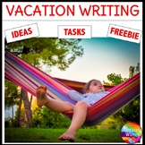 WRITING TASKS and IDEAS Vacation Theme Stimulate ideas for