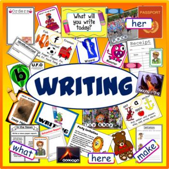 WRITING TEACHING RESOURCES EARLY YEARS KS1-2 CREATIVE STORY ENGLISH LITERACY
