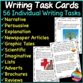 WRITING Task Cards with Picture Prompts Individual Daily W