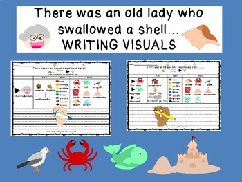 WRITING VISUALS There was an OLD LADY who swallowed A SHELL