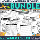 Monthly Writing Prompt Bundle