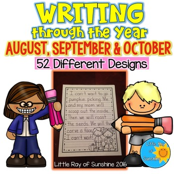 Writing Paper(Aug, Sept, Oct).