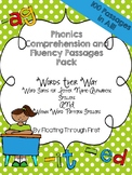 WTW Comprehension/Fluency Passages for Alphabetic and Pattern Spellers BUNDLE